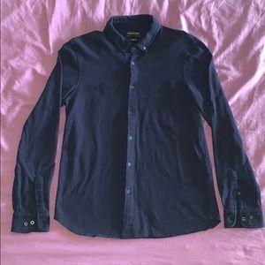 Denim & Flower Slim Fit navy blue XL